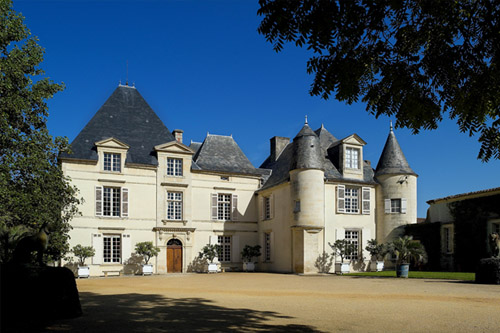 Châteaux Haut-Brion in the Médoc region of France